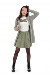 Frankie & Liberty Autumn-Winter collectie 2017, cherry cardigan, coco skirt, Angel with an Attitude Tee, Frankie en Liberty najaarscollectie, statement tee, statement T-shirts